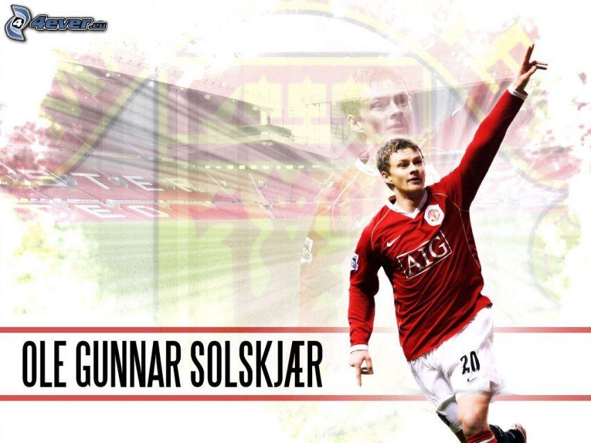 Ole Gunnar Solskjaer, footballer