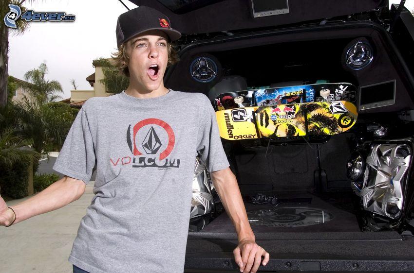 Ryan Sheckler, skateboard