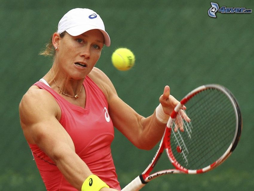 Samantha Stosur, tennis player, game