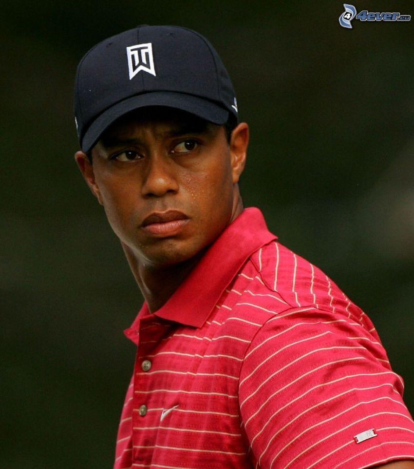 Tiger Woods, cap