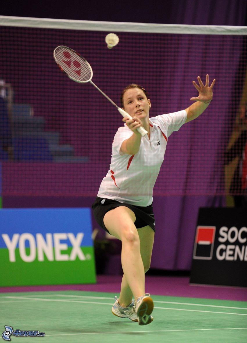badminton, net