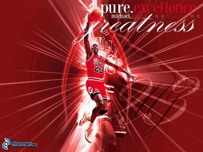 Michael Jordan, cartoon