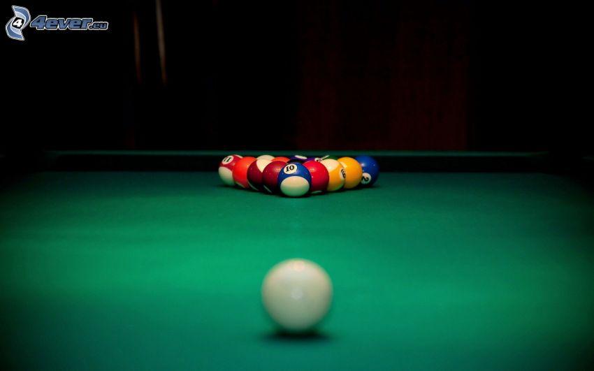 billiard, billiard balls