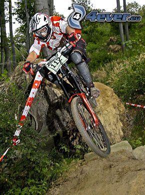 bicycle, bike, downhill