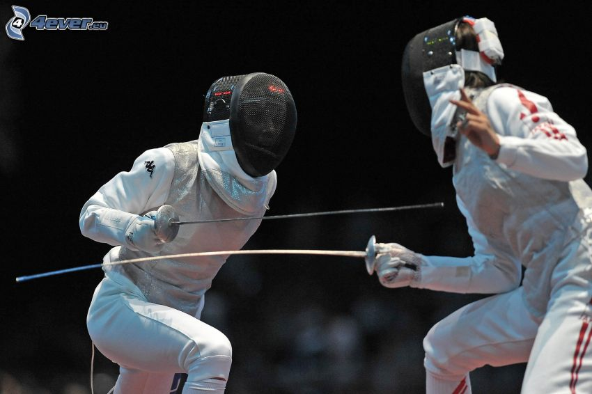 fencing, swordsmen