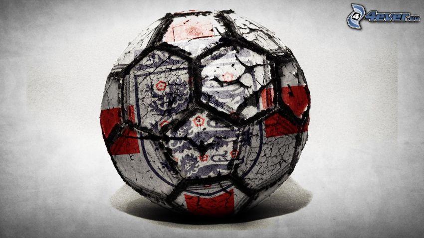 ball, crack