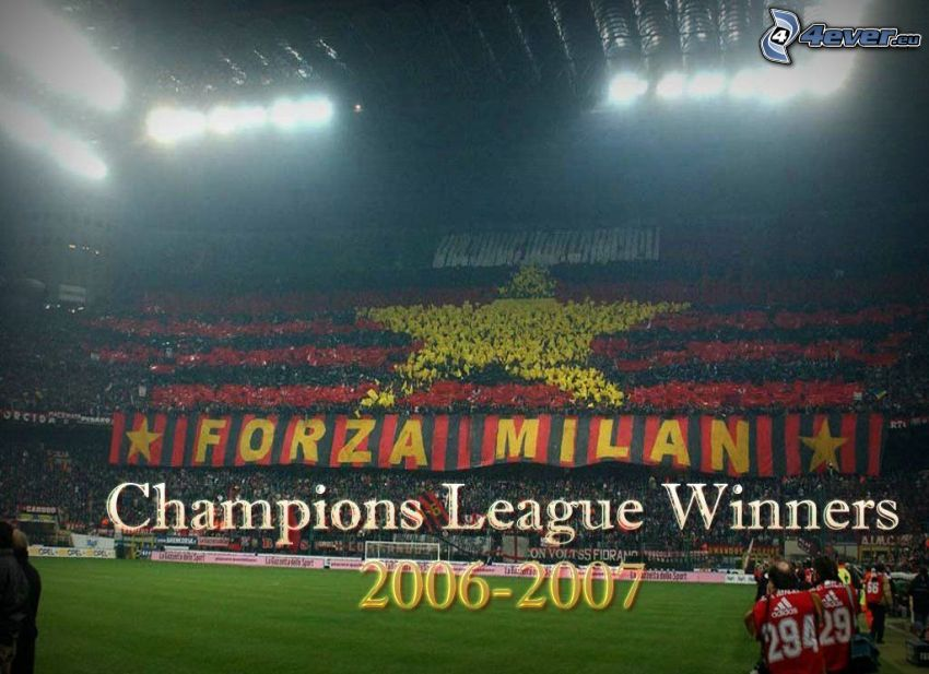 Champions League, soccer, Milan