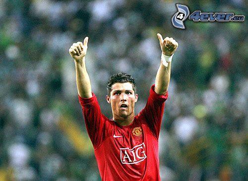 Cristiano Ronaldo, footballer, sport