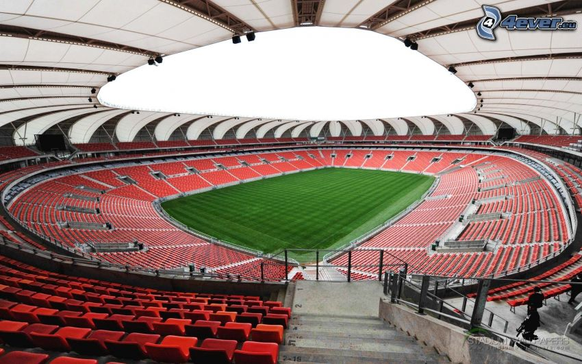 Nelson Mandela Bay Stadium, football field, stadium
