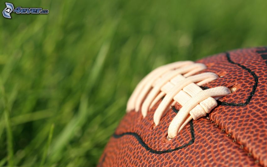 soccer ball, american football