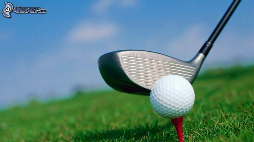 golf, golf ball
