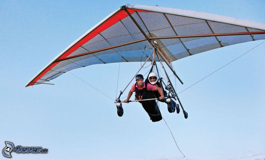 hang gliders, tandem