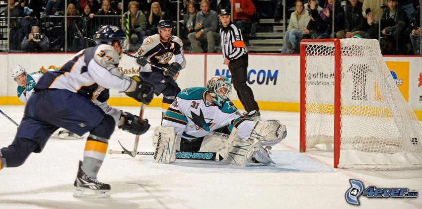 goal, San José Sharks, Nashville Predators