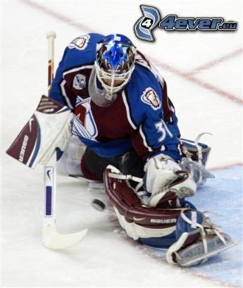 Peter Budaj, Colorado Avalanche, hockey, goalie