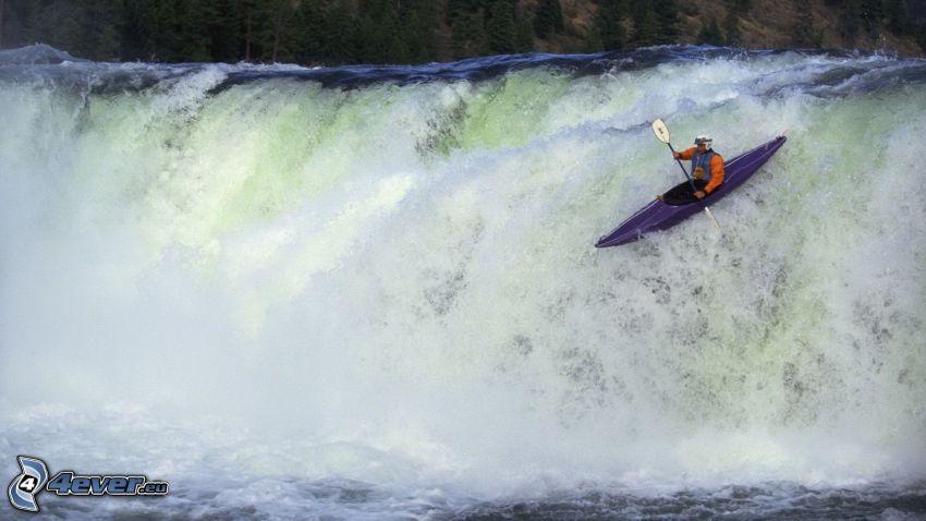 rafting, wild water