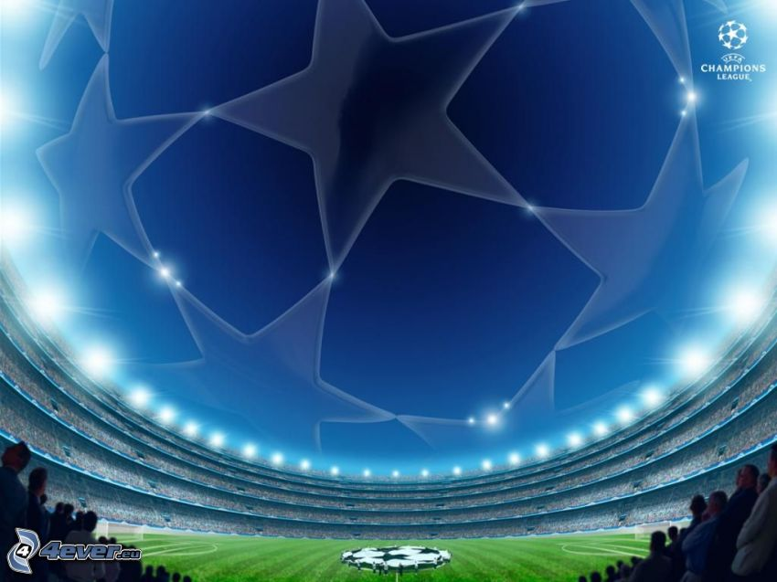 football stadium, Champions League
