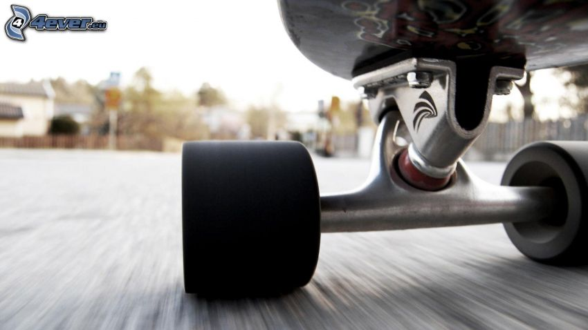skateboard, chassis