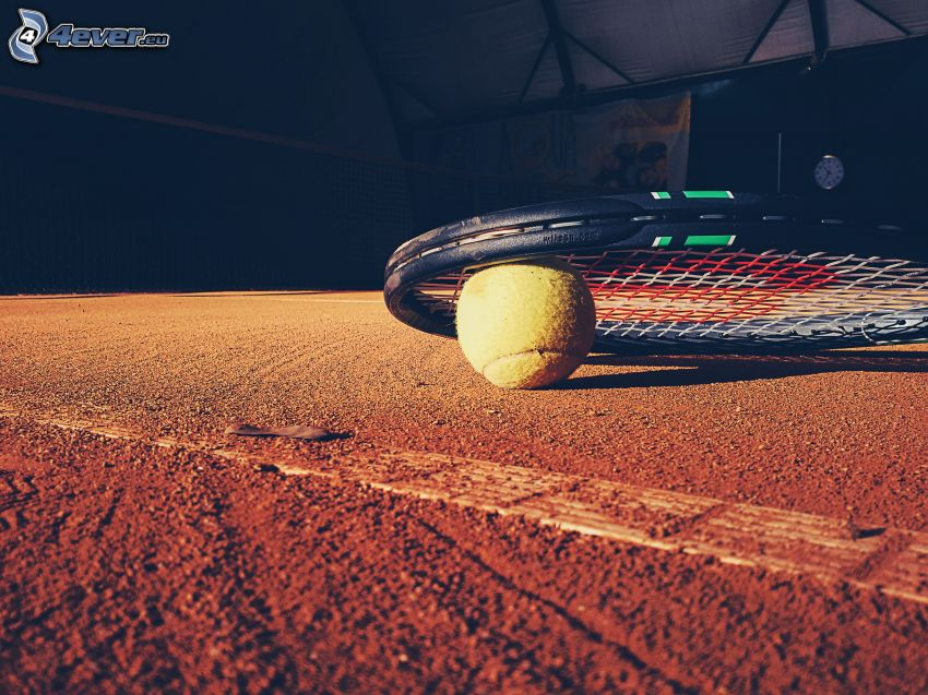 tennis ball, tennis racket, tennis courts