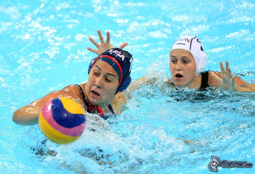 water polo, ball