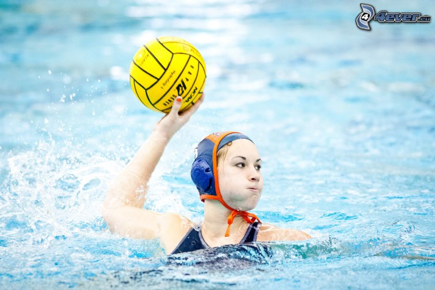 water polo, ball