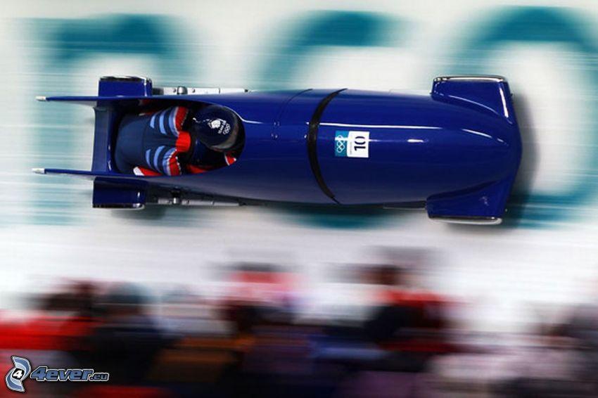 bobsledding, speed