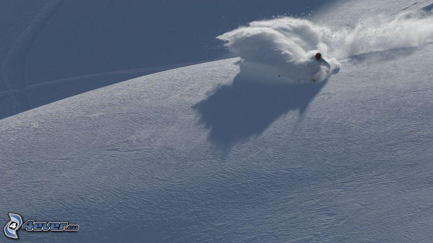 extreme skiing, skialpinist