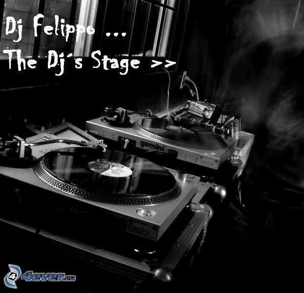 DJ Felippo, DJ console