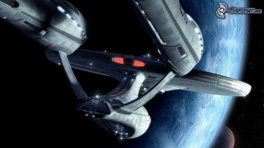 Enterprise, Star Trek, Earth