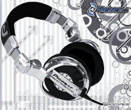 headphones, Pioneer