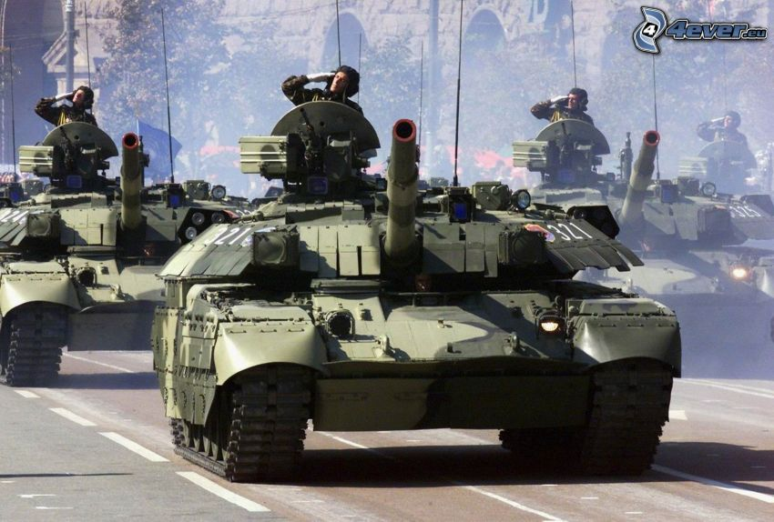 military parade, tanks, soldiers