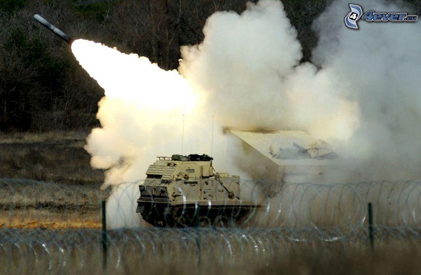 missile, shot