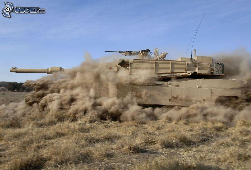 tank, dust