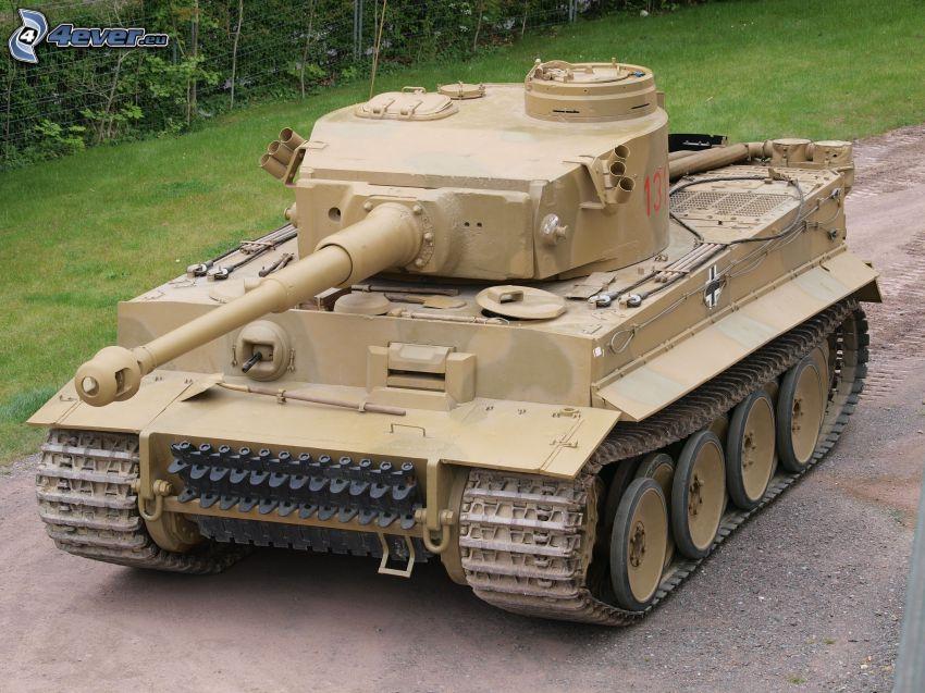 Tiger, tank