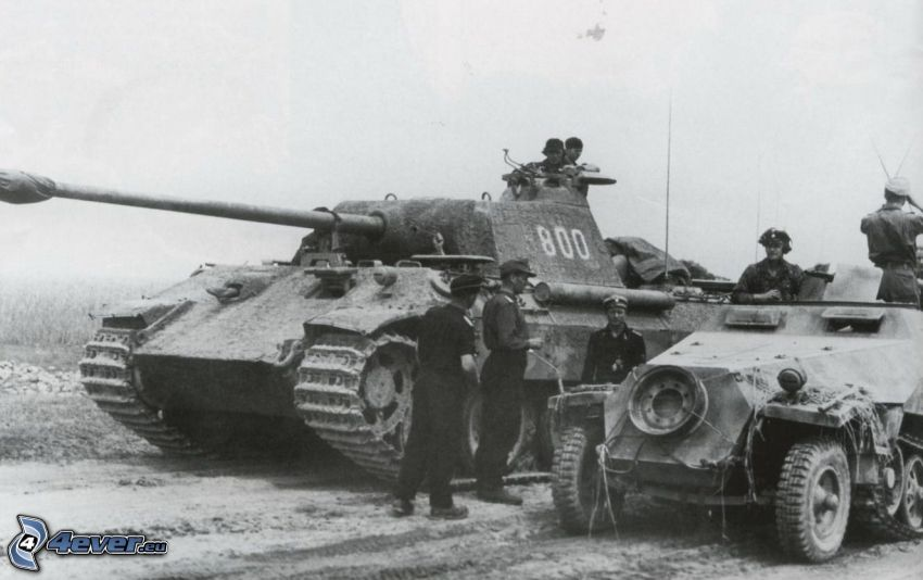 tanks, soldiers, war