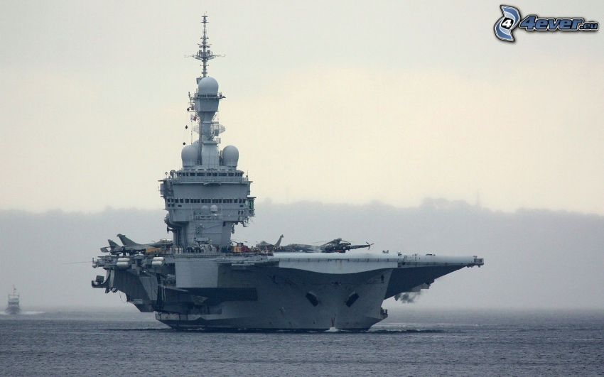 R91 Charles de Gaulle, aircraft carrier