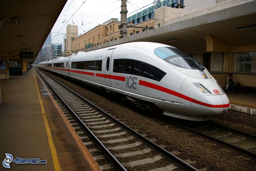 ICE 3, rails, high speed train, Brussels