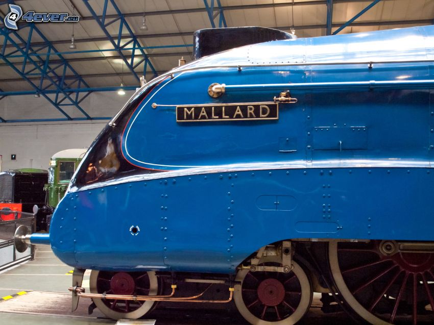 Mallard, steam locomotive, museum