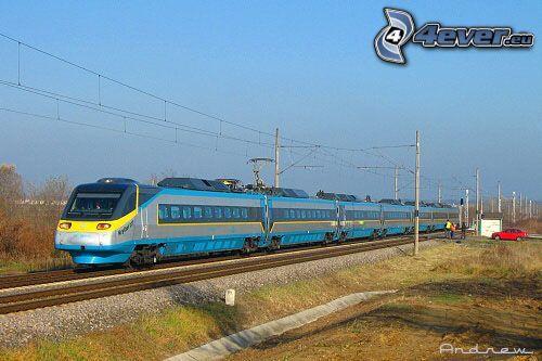 Pendolino, train