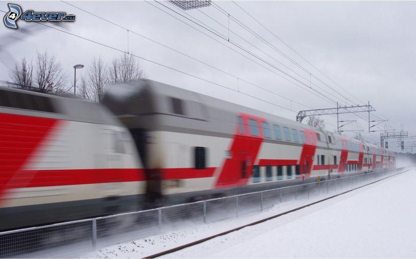 train, speed