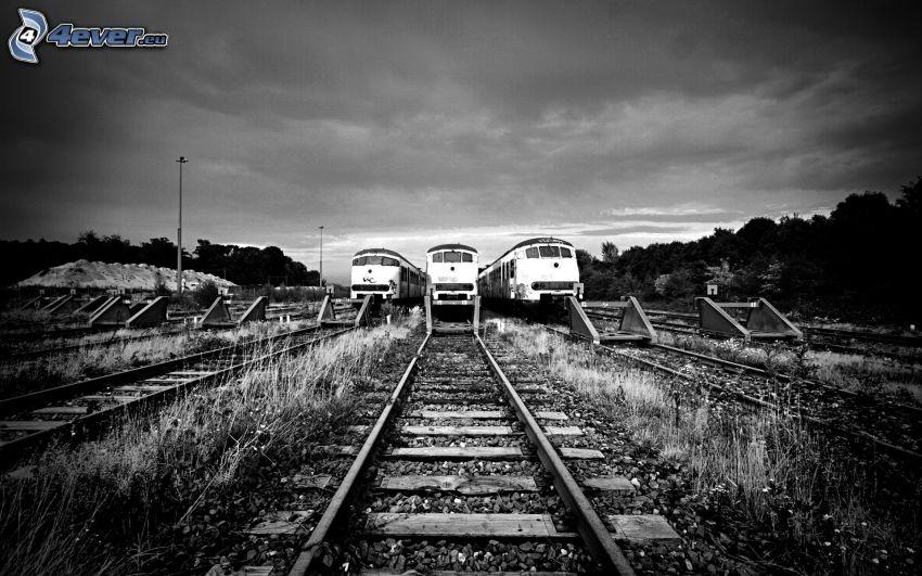 trains, railway