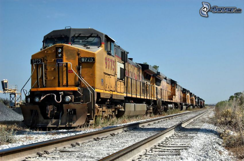 Union Pacific, rails