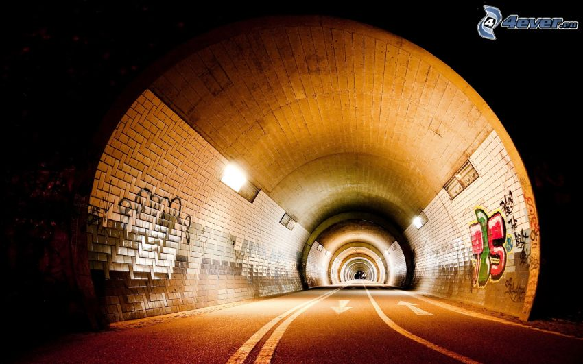 tunnel, road