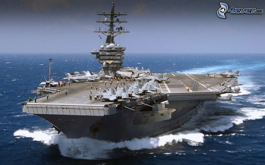 USS Nimitz, aircraft carrier