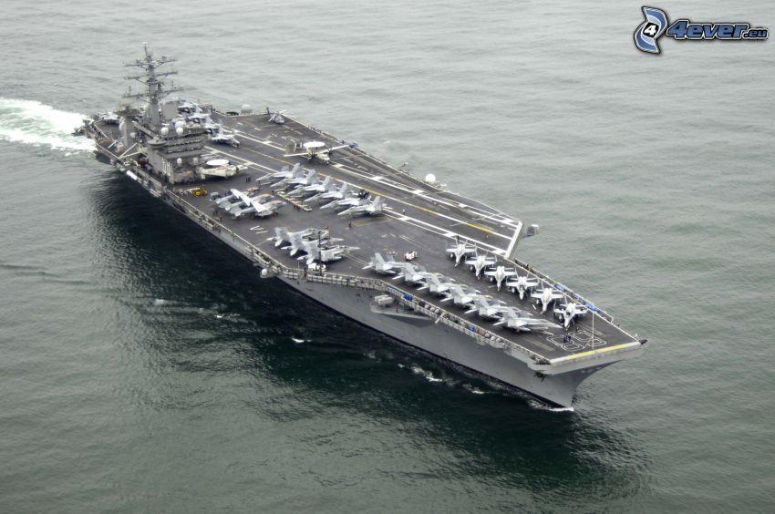 USS Nimitz, aircraft carrier