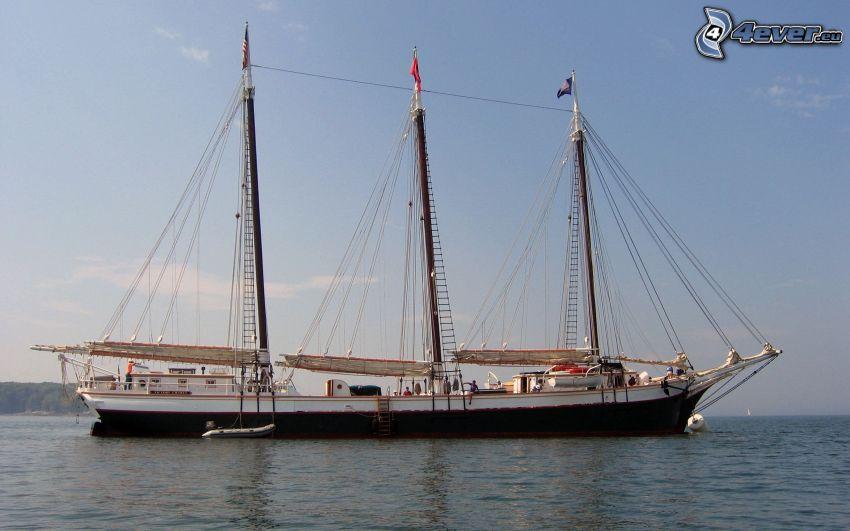 Victory Chimes, sailing boat, ship
